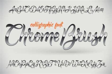 eps format fonts chrome fonts vector vector font free download