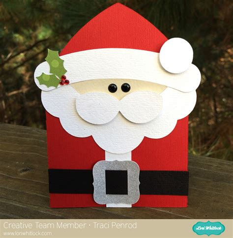 Santa Gift Card Holder - santa gift card holder with traci 187 lori whitlock