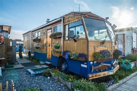 renovated cers tiny house giant journey john 75 is no stranger to