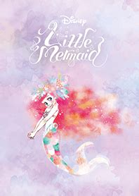 theme line little my the little mermaid pastel line theme line store