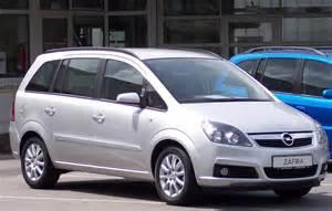 Opel Opel Opel Zafira B Den Frie Encyklop 230 Di