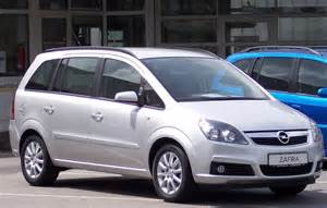 Opel Zafira Wiki Opel Zafira B Den Frie Encyklop 230 Di