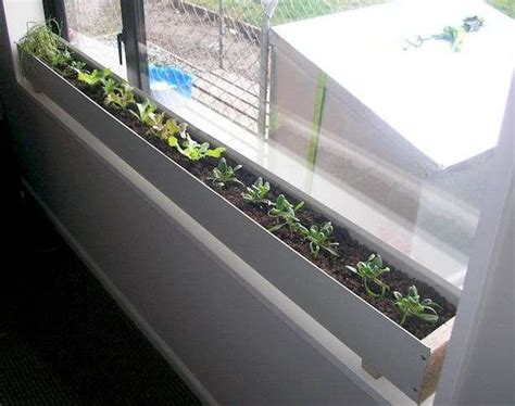 indoor window planter build an indoor window box farm girl pinterest