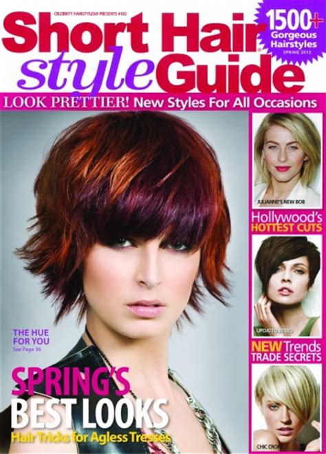 hairstyle magazine hair style guide magazine venom