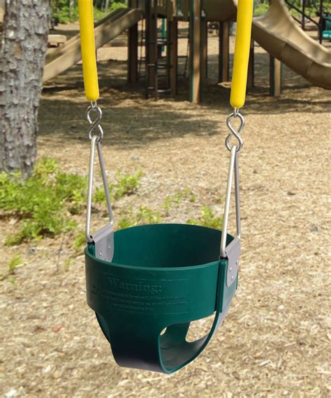 full bucket swing commercial full bucket swing with soft grip chain