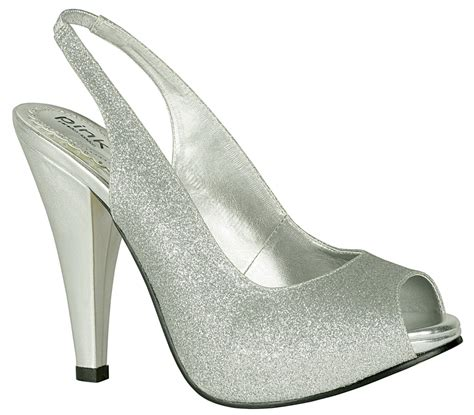 Silver Wedding Shoes For Bridesmaids by Pink Carrie Silver Bridesmaid Shoes Ipunya