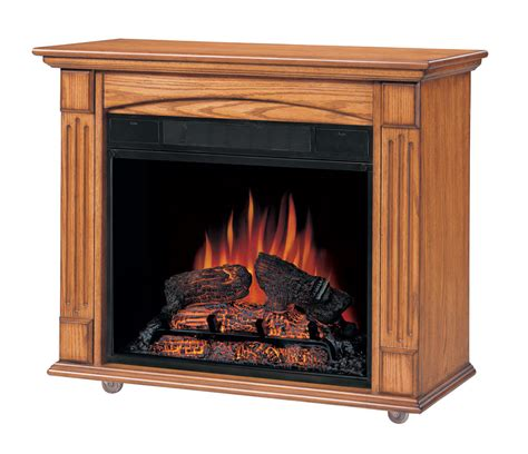 lancaster oak petit foyer electric fireplace 23 inch