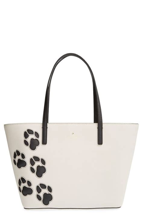 Kate Spade New York Cat Ac1718 kate spade new york cat s meow small harmony paw tote cats cas and kate spade