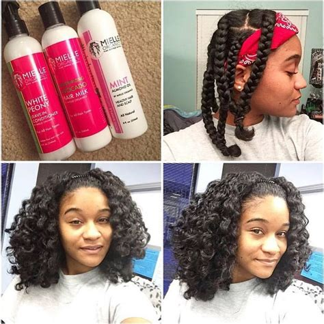 to do a braid out using curl junkie pattern pusha gel part1 youtube braid out on natural hair using mielle organics hair