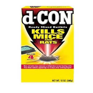 d con 12 oz rat and mouse killer ready mixed baitbits 12