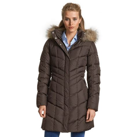 winter coats bogner bogner d womens winter coat in chocolate bogner from white uk