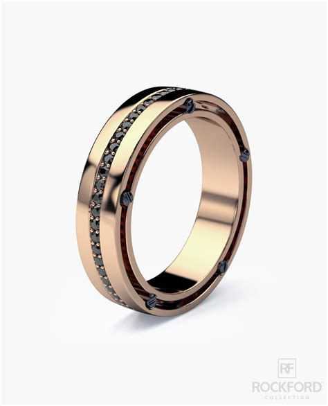 Wedding Bands Without Diamonds by Franklin Gold Mens Wedding Band With Black Diamonds