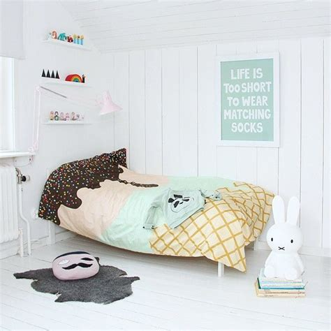 ice cream bedding 10 bright and girly rooms mommo design