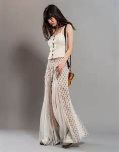 reserved for eileen wide leg pants with floral block print