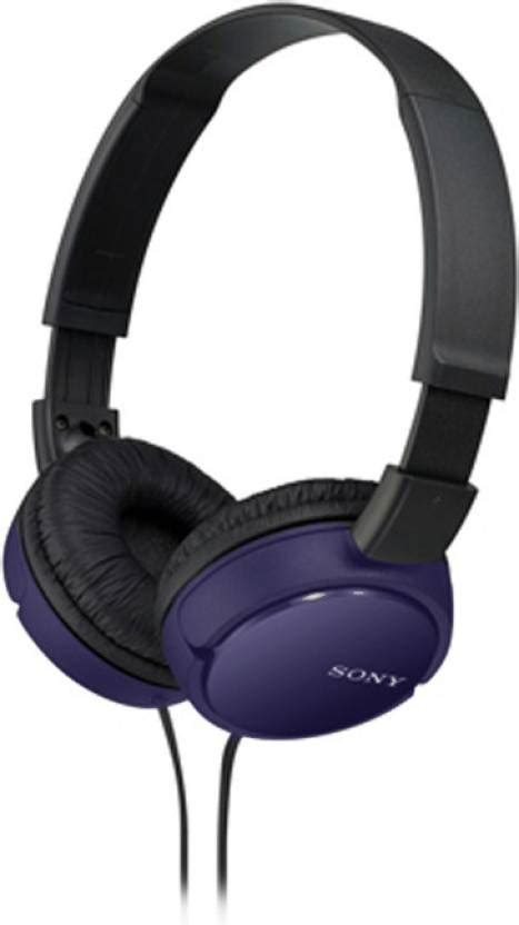 Sony Headphones Mdr Zx110a sony mdr zx110a wired headphone price in india buy sony