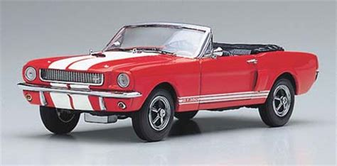 kyosho: 1966 shelby mustang gt350 convertible red/white