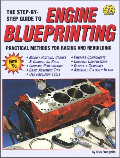 libro the practical step by step guide step by step guide to engine blueprinting sagin workshop car manuals repair books information