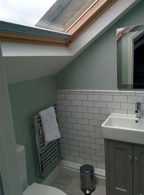 small loft conversion in london small loft conversion bathroom shower room in se london