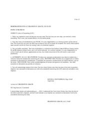 Air Loc Template by Loc 3 Oct 12 Memorandum For A1c Brandon R Gracie From 59