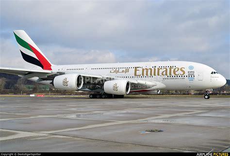 emirates zurich a6 eew emirates airlines airbus a380 at zurich photo