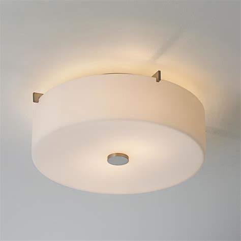 white glass drum ceiling light flush mount ceiling