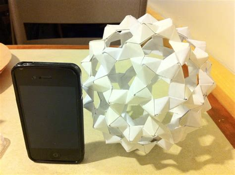 Origami Buckyball - origami images buckyball hd wallpaper and background