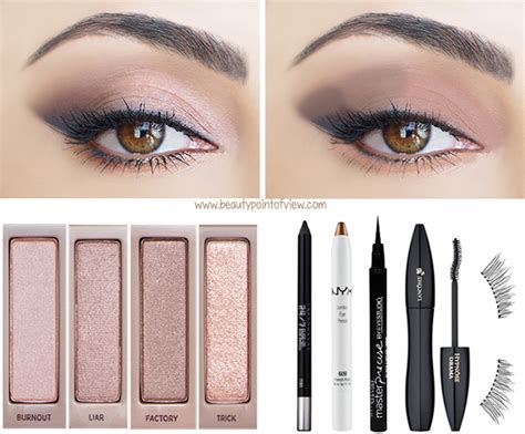 Eyeliner Mascara Naked3 3 makeup looks point of view