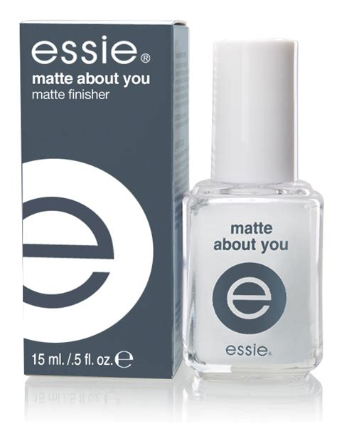 essie matte about you essie matte about you finisher for fall 2009