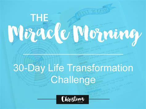 the miracle morning companion planner books the miracle morning 30 day transformation challenge