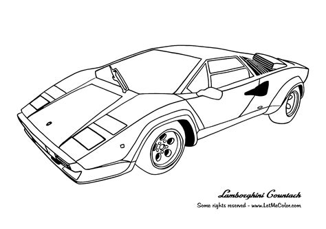 coloring pages on cars coloring supercars page 3 letmecolor