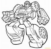 Transformers Rescue Bots Coloring Page  Free