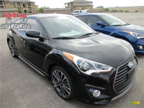 hyundai veloster turbo blacked out 2016 ultra black hyundai veloster turbo r spec 107797343