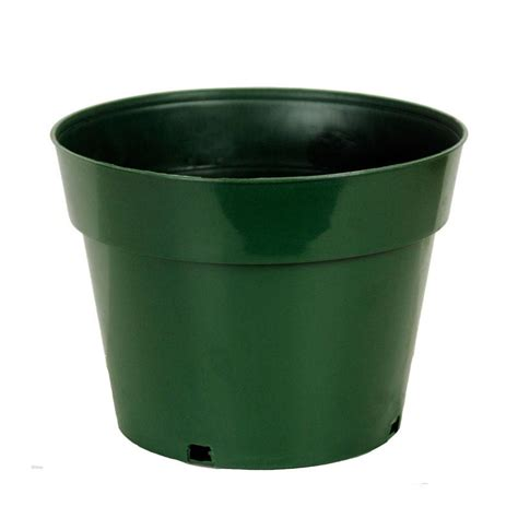 10 quot green plastic pot