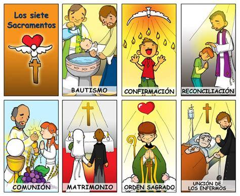 dibujos de los 7 sacramentos catequesis para ninos catolicos dibujos para catequesis