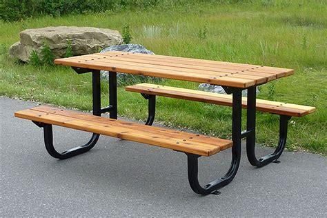 custom picnic tables series b1 picnic tables custom park leisure