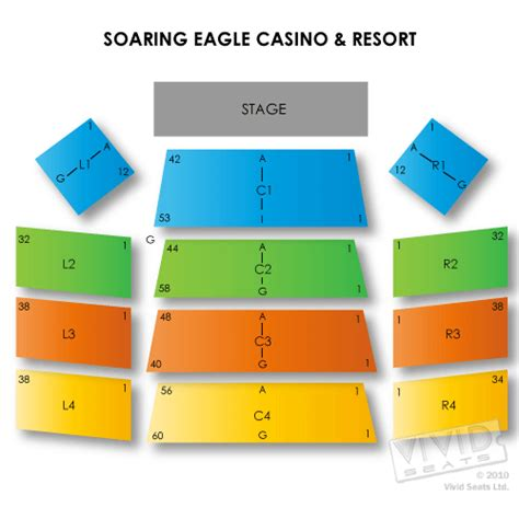 soaring eagle outdoor concert seating soaring eagle casino and resort seating chart seats