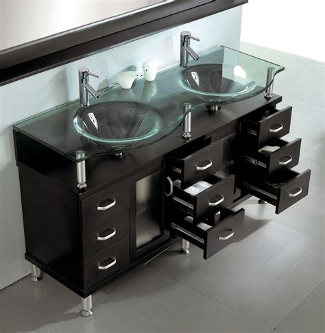 kitchen sink furniture sink bathroom vanity in espresso by virtu usa