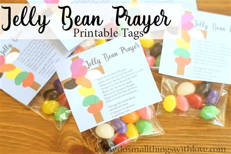 printable jelly bean name tags jelly bean prayer free tags for easter do small things