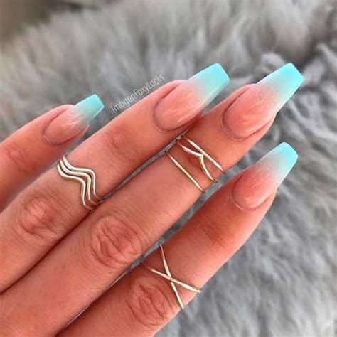 colored ombre must see ombre colored nail designs