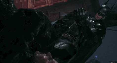 Correction Your Fear Bat batman launches missiles tortures a in new arkham