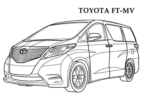 coloring pages toyota cars toyota coloring pages 2 toyota kids printables