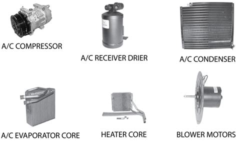 heating air conditioning replacement parts for jeep wrangler yj quadratec
