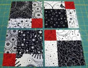 quiltworks disappearing 9 patch quilt