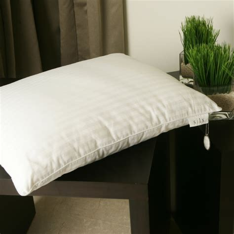 silk bed pillows double silk filled pillow modern bed pillows