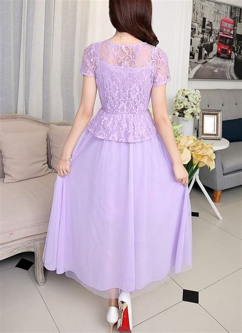 Dress Cntik dress pesta brokat cantik model terbaru jual