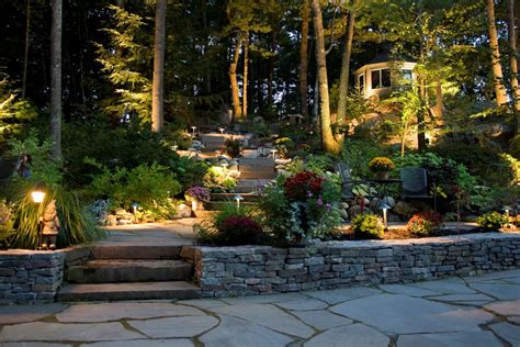 Landscape Design Lighting Landscape Lighting With Gnome Ls Landscape Designs For Your Home
