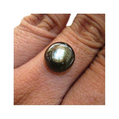 jual batu black safir cabochon 9 65 carat harga