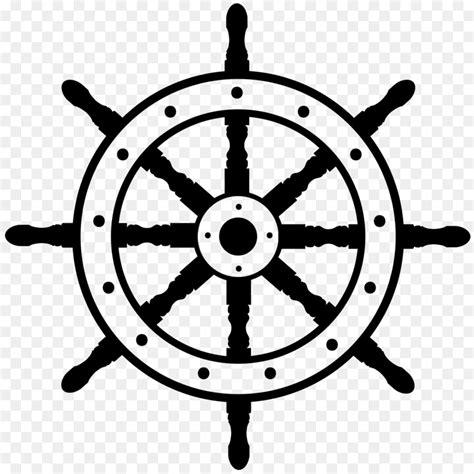 boat steering wheel icon ship s wheel boat clip art steering wheel png download