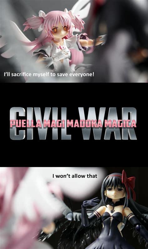 Magi Memes - puella magi madoka magica civil war puella magi madoka
