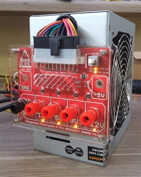 bench power supply from atx atx bench power supply 171 dangerous prototypes
